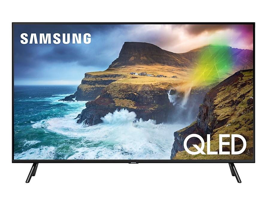 лучшая цена Телевизор Samsung QE49Q70RAUXRU QLED 49