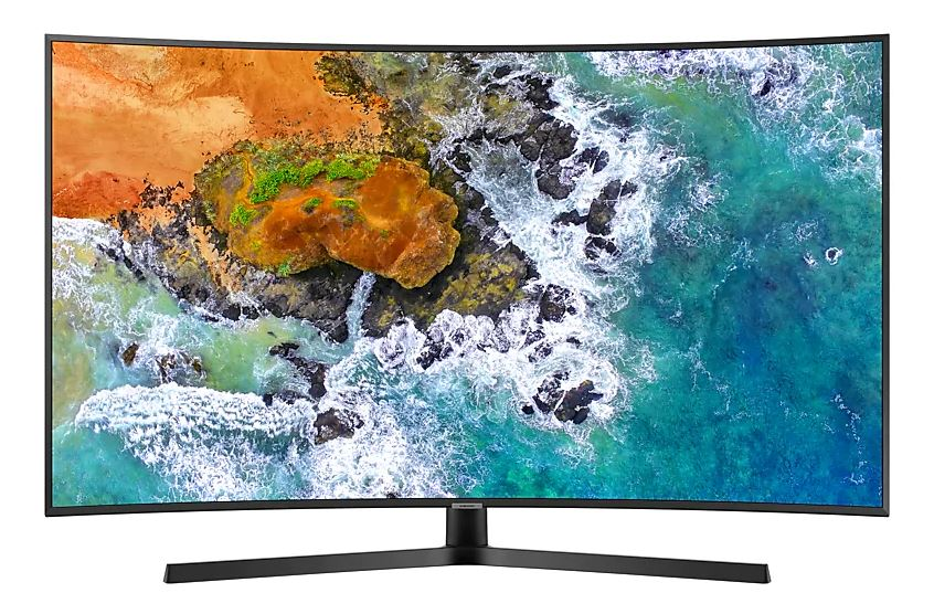 "Телевизор Samsung UE65NU7500UXRU LED 65"" Black, Smart TV, 16:9, 3840x2160, USB, HDMI, AV, Wi-Fi, RJ-45, DVB-T2, C, S2"