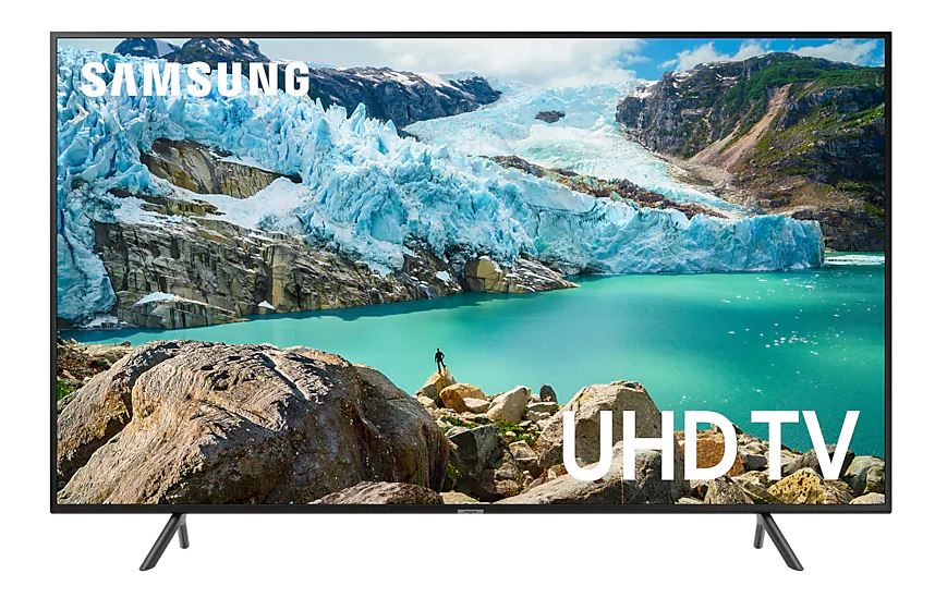 "Телевизор Samsung UE75RU7100UXRU LED 75"" Black, Smart TV, 16:9, 3840x2160, USB, HDMI, AV, Wi-Fi, RJ-45, DVB-T2, C, S2"