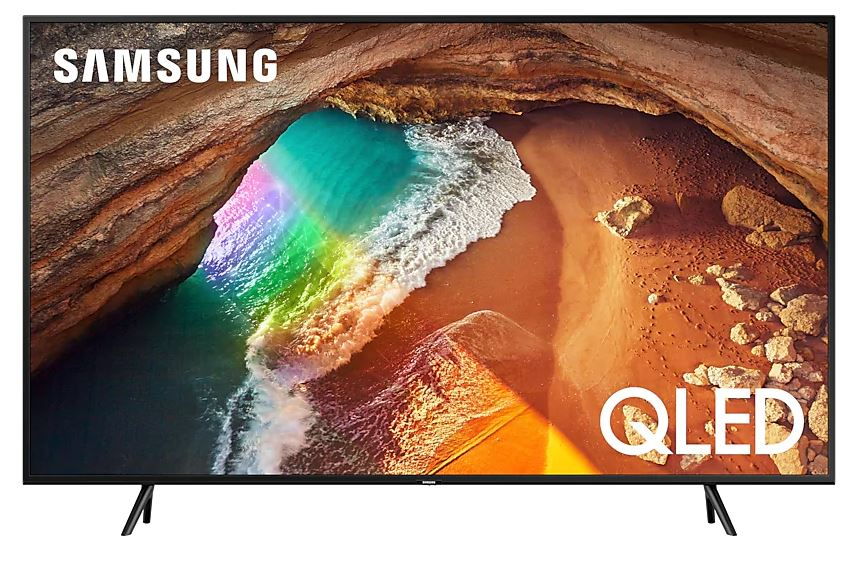 "Телевизор Samsung QE65Q60RAUXRU LED 65"" Black, Smart TV, 16:9, 3840x2160, USB, HDMI, Wi-Fi, RJ-45, DVB-T2, C, S2"