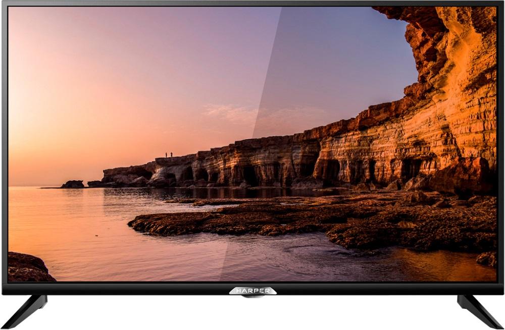 Телевизор HARPER 24R6750T LED 24 Black, 16:9, 1366х768, 60000:1, 250 кд/м2, USB, HDMI, AV, DVB-T, T2, C, S2