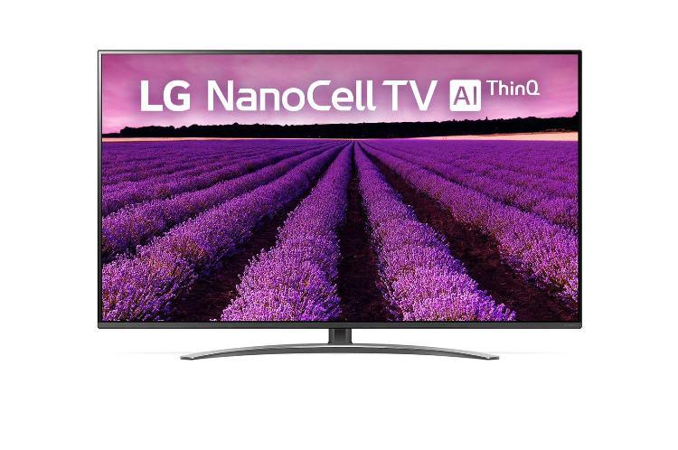 Фото - Телевизор LG 65SM8200 NanoCell LED 65 Titanium, Smart TV, 16:9, 3840x2160, USB, HDMI, AV, Wi-Fi, RJ-45, DVB-T, T2, C, S, S2 кеды мужские vans ua sk8 mid цвет белый va3wm3vp3 размер 9 5 43