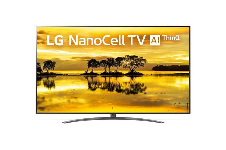 "Телевизор LG 86SM9000 NanoCell LED 86"" Silver, Smart TV, 16:9, 3840x2160, USB, HDMI, Wi-Fi, RJ-45, DVB-T2, C, S2"