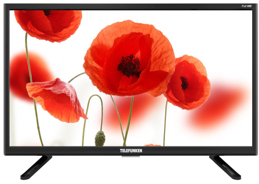 Телевизор Telefunken TF-LED22S32T2 LED 21,5 Black, noSmart TV, 16:9, 1920x1080, 4000:1, 200 кд/м2, USB, HDMI, AV, noWi-Fi, DVB-T, T2, C телевизор telefunken tf led32s52t2s led 31 5 black smart tv 16 9 1366х768 5 000 1 330 кд м2 usb hdmi wi fi rj 45 dvb t t2 c