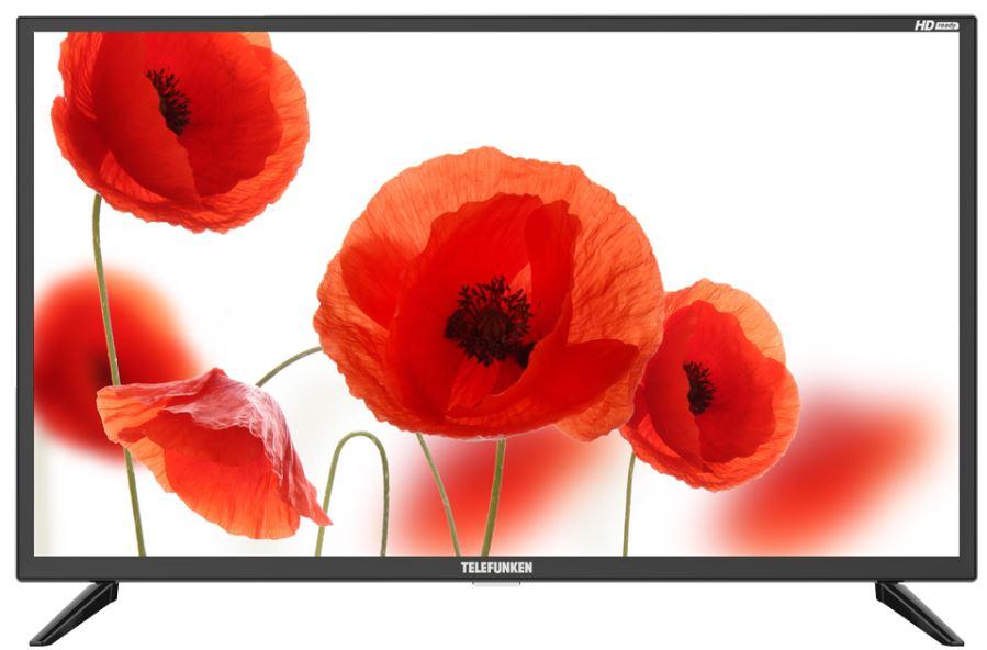 Телевизор Telefunken TF-LED32S07T2 LED 31,5 Black, noSmart TV, 16:9, 1366х768, 3000:1, 180 кд/м2, USB, HDMI, AV, noWi-Fi, DVB-T, T2, C телевизор telefunken tf led32s52t2s led 31 5 black smart tv 16 9 1366х768 5 000 1 330 кд м2 usb hdmi wi fi rj 45 dvb t t2 c