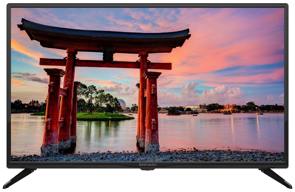"Телевизор SHIVAKI STV-32LED23S LED 32"" Black, Smart TV, 16:9, 1366х768, 3000:1, 200 кд/м2, USB, HDMI, VGA, AV, Wi-Fi, RJ-45, DVB-T, T2, C, S2"