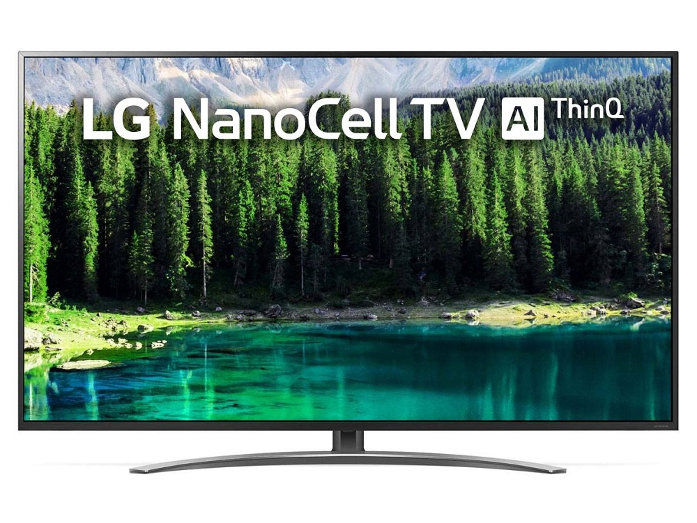 "Телевизор LG 75SM8610 LED 75"" Black, Smart TV, 16:9, 3840x2160, USB, HDMI, Wi-Fi, RJ-45, DVB-T, T2, C, S, S2"