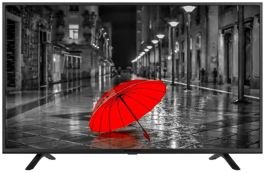 Фото - Телевизор SHIVAKI STV-43LED21 LED 43 Black, 16:9, 1920x1080, 1200:1, 240 кд/м2, USB, HDMI, DVB-T, T2, C, S2 телевизор shivaki stv 49led16 led 49 silver 16 9 1920x1080 3000 1 250 кд м2 2xusb vga 3xhdmi scart av dvb t t2 c s2