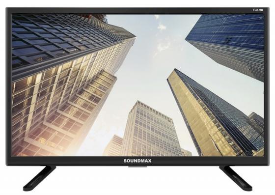 Фото - Телевизор Soundmax SM-LED22M06 LED 22 Black, 16:9, 1920x1080, 4000:1, 200 кд/м2, USB, HDMI, AV, DVB-T, T2, C аксессуар чехол g case для samsung galaxy tab a 10 5 sm t590 sm t595 slim premium black gg 982