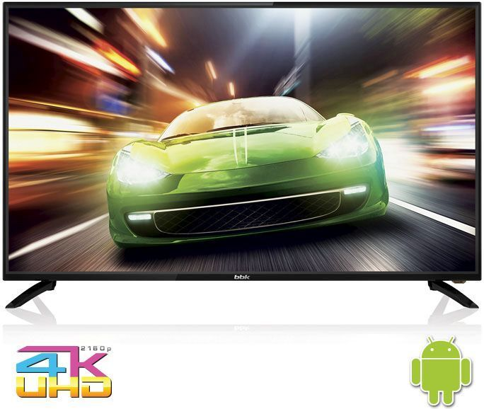 цена на Телевизор BBK 43LEX-8169/UTS2C LED 43 Black, Smart TV, 16:9, 3840x2160, 3000:1, 250 кд/м2, USB, HDMI, AV, Wi-Fi, RJ-45, DVB-T2, C, S2