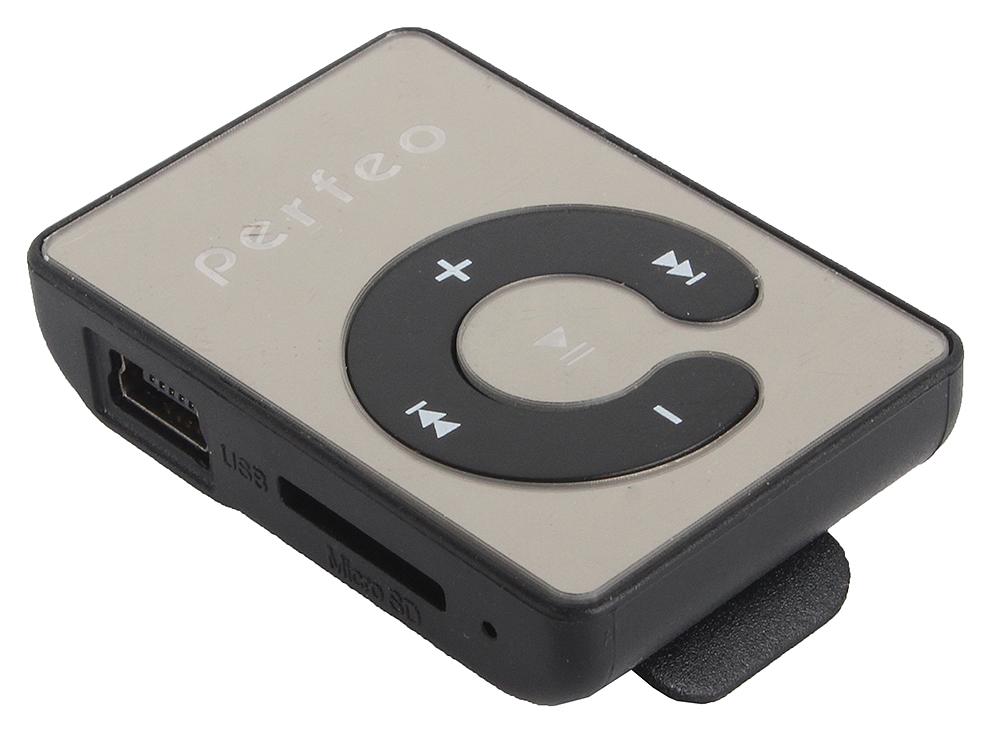 Цифровой аудио плеер Perfeo Music Clip Color, чёрный (VI-M003 Black) недорого