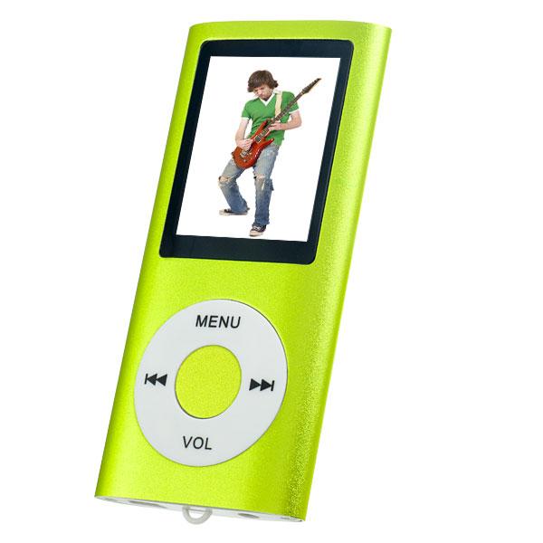 Плеер Perfeo VI-M011 зеленый mp3 плеер perfeo music i sonic silver vi m011 silver