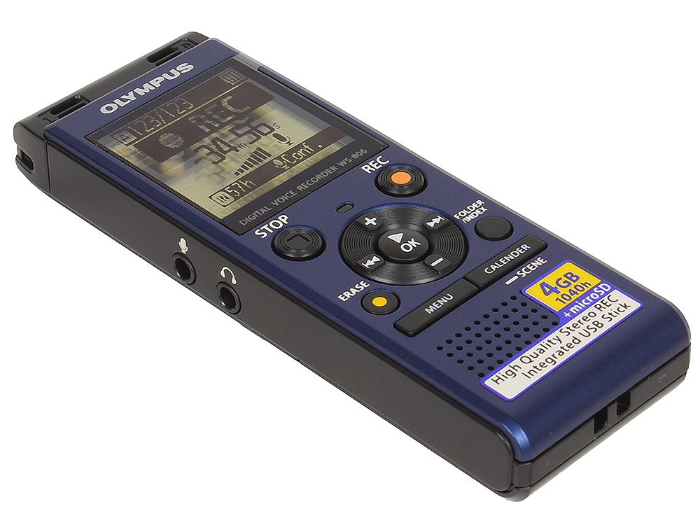 цена на Диктофон Olympus WS-806 Blue 4 Гб, USB