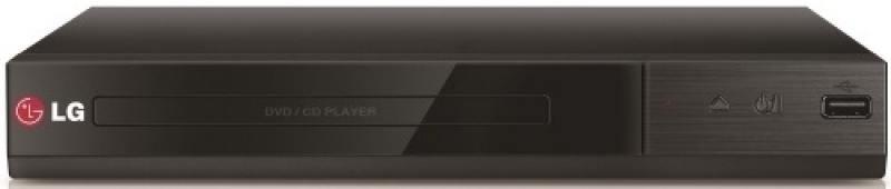 Проигрыватель DVD LG DP137 черный портативный dvd проигрыватель sony