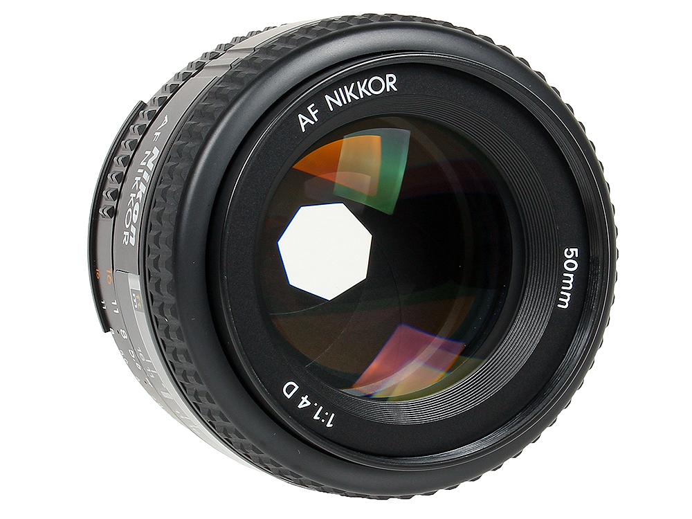 Объектив Nikon AF 50mm f/1.4D Nikkor объектив nikon nikkor af s 35 mm f 1 8 g dx