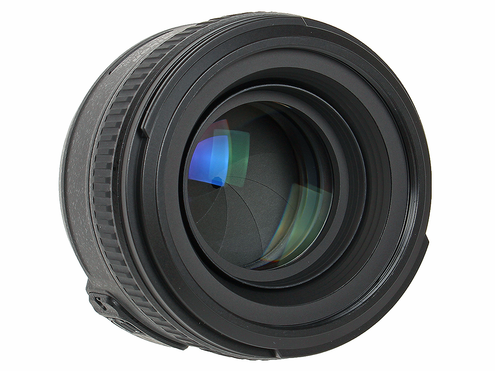Объектив Nikon AF-S 50mm f/1.4G Nikkor зеркальный фотоаппарат nikon d7500 af s dx nikkor 18 105vr черный