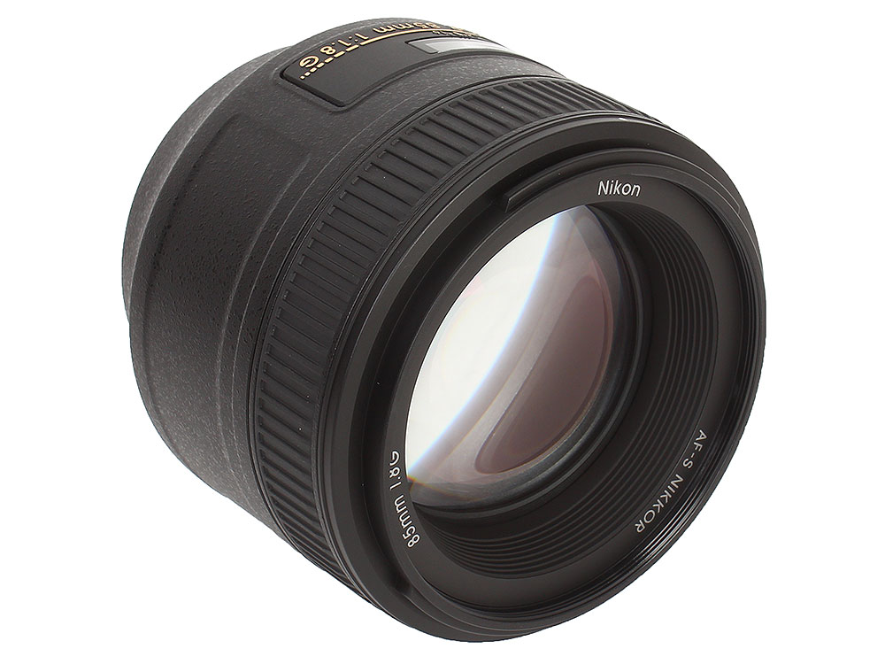 Объектив Nikon AF-S 85mm f/1.8G Nikkor объектив nikon nikkor af s 35 mm f 1 8 g dx