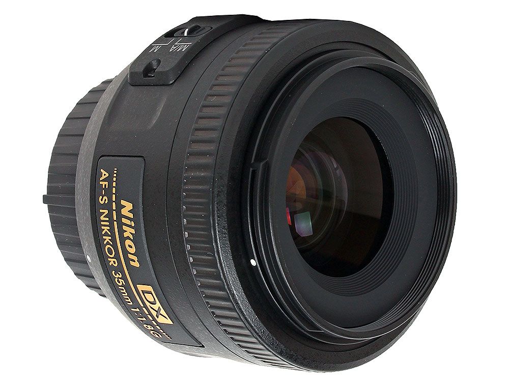 Объектив Nikon AF-S 35mm f/1.8G DX Nikkor цены онлайн