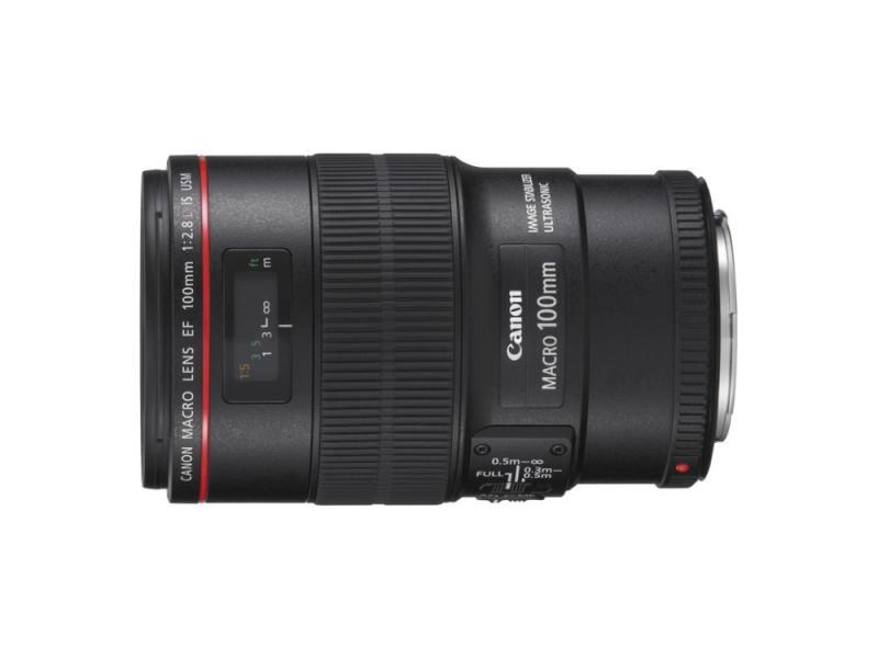 Объектив Canon EF 100MM 2.8L IS USM MACRO 3554B005 цена и фото