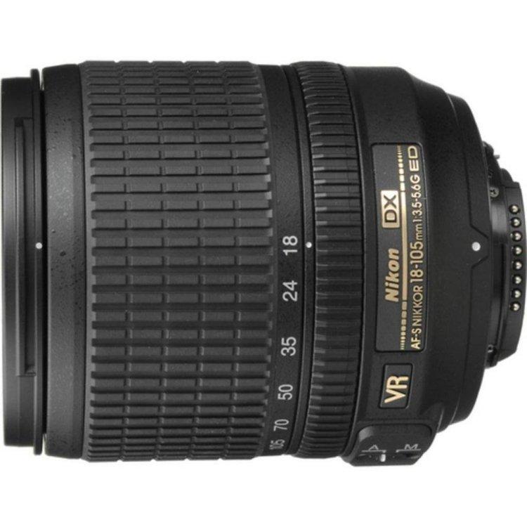 Объектив Nikon AF-S 18-105mm f/3.5-5.6G ED VR DX Nikkor цена