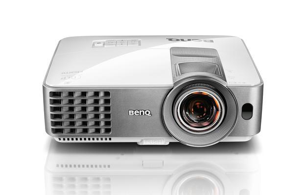 Фото - Проектор BenQ MS630ST DLP 800x600 3200 ANSI Lm 13000:1 VGA 2xHDMI RS-232 9H.JDY77.13E мультимедийный проектор benq ms527 dlp 3300lm 13000 1 4500час 1xhdmi 1 9кг