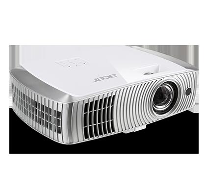 Фото - Проектор Acer H7550ST 1920х1080 3000 люмен 16000:1 белый серебристый проектор epson eh tw610 1920х1080 3000 люмен 10000 1 белый v11h849140