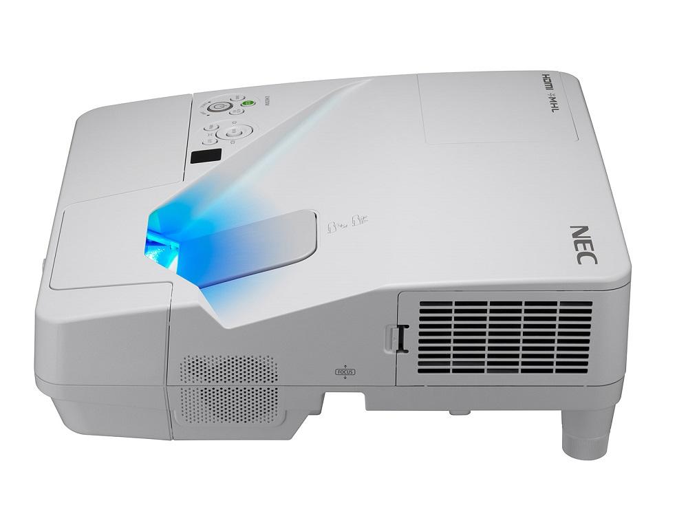 Фото - Мультимедийный проектор Nec UM361X LCD / 1024 х 768 / 4:3 / 3600 Lm / 6000:1 lcd monitor rearview camera car parking sensor kit 4 sensors buzzer 22mm visual reverse radar sound alert auto assistance
