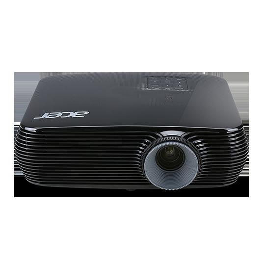 лучшая цена Мультимедийный проектор Acer X1226H DLP 1024x768 4000 люмен 20000:1 черный MR.JPA11.001