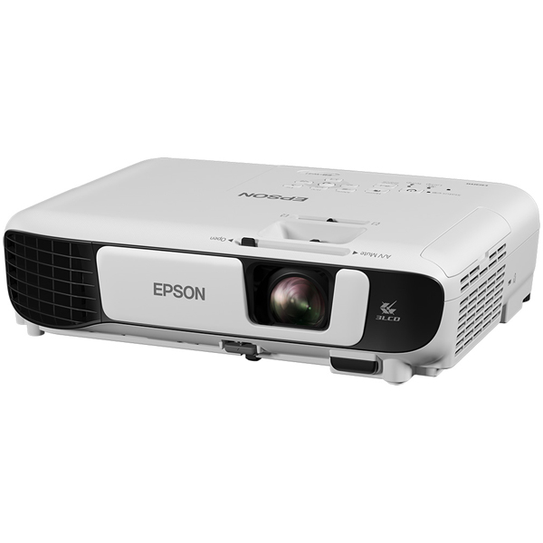 Мультимедийный проектор Epson EB-W41 White 3P-Si TFT / 1280 х 800 / 16:10 / 3600 Lm / 15000:1 проектор epson eb x05 lcdx3 1024x768 3300ansi lm 15000 1 vga hdmi usb белый v11h839040