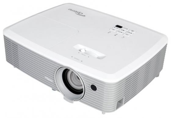 лучшая цена Проектор Optoma W400 DLP 1280x800 4000 ANSI Lm 22000:1 VGA HDMI USB RS-232 белый 95.78C01GC0E