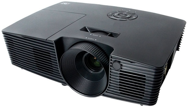 Фото - Проектор InFocus IN112xv Black DLP / 800 x 600 / 4:3 / 3400 Lm / 16000:1 проектор infocus in112xa dlp 800 x 600 4 3 3600 lm 18000 1