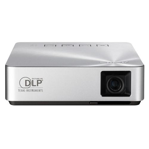 Фото - Проектор ASUS S1 Mobile Silver DLP / 854 x 480 / 4:3 / 200 Lm / 1000:1 проектор asus zenbeam e1z