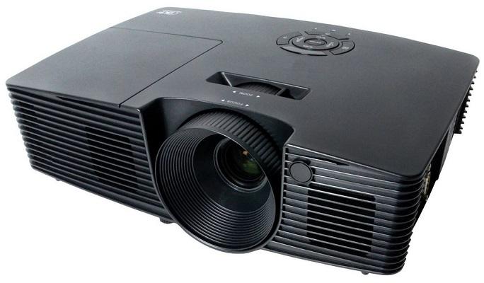 Проектор InFocus IN112xa DLP / 800 x 600 / 4:3 / 3600 Lm / 18000:1 проектор infocus inl144ust dlp 1024x768 4000 ansi lm