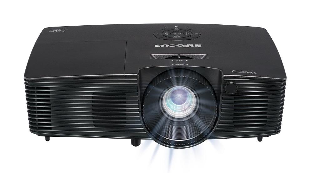 Фото - Проектор InFocus IN114xa Black DLP 3D Ready / 1024 х 768 / 4:3 / 3800 Lm / 26000:1 очки 3d palmexx px 101plus 3d px 101 dlp link