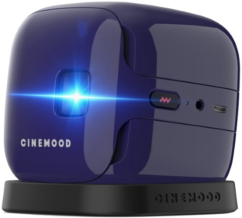 Мини проектор CINEMOOD КиноКубик ivi (CNMD0016VI) Violet DLP / 16:9 / 1000:1 neon night led проектор белые снежинки 220в