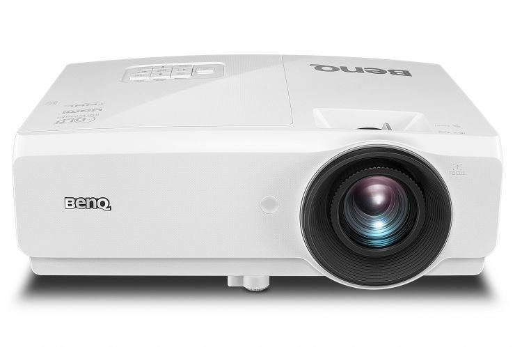 Фото - Мультимедийный проектор BenQ SW752+ White DLP / 1280 х 800 / 16:10 / 5000 Lm / 13000:1 мультимедийный проектор benq ms506