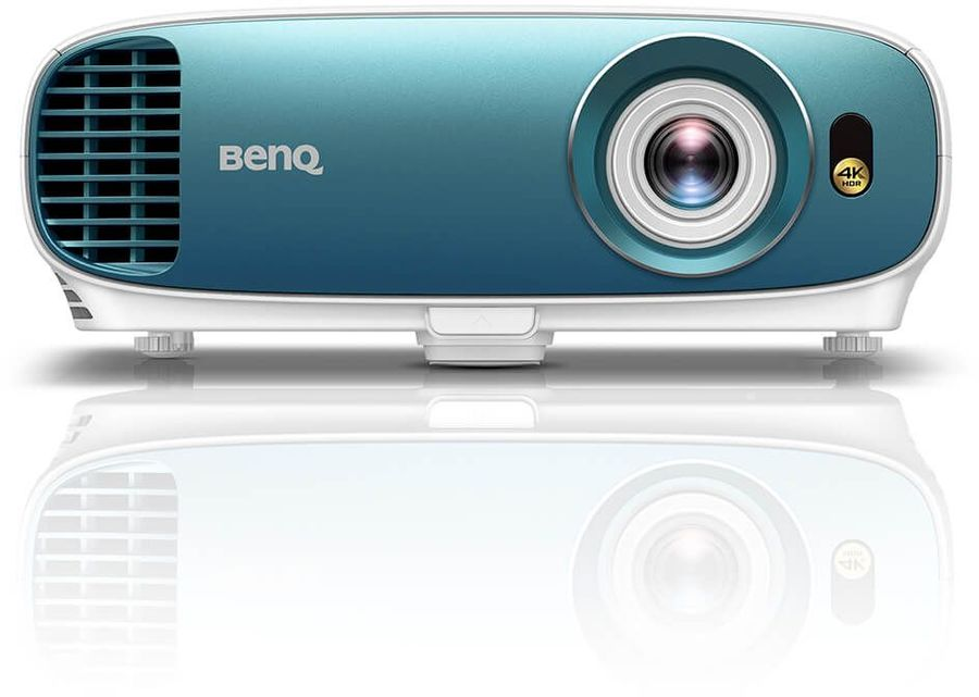 Фото - Мультимедийный проектор BenQ TK800M White/Blue DLP / 3840 x 2160 / 16:9 / 3000 Lm / 10000:1 мультимедийный проектор benq ms527 dlp 3300lm 13000 1 4500час 1xhdmi 1 9кг