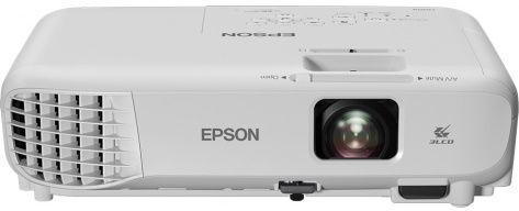 Мультимедийный проектор Epson EB-E001 White 3P-Si LCD / 1024 х 768 / 4:3 / 3100 Lm / 10000:1