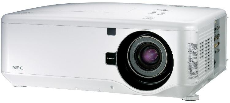 Фото - Проектор Nec NP4100W + линза NP07ZL White DLP / 1280 х 800 / 16:10 / 5500 Lm / 2100:1 линза для моб телефона красная dunk