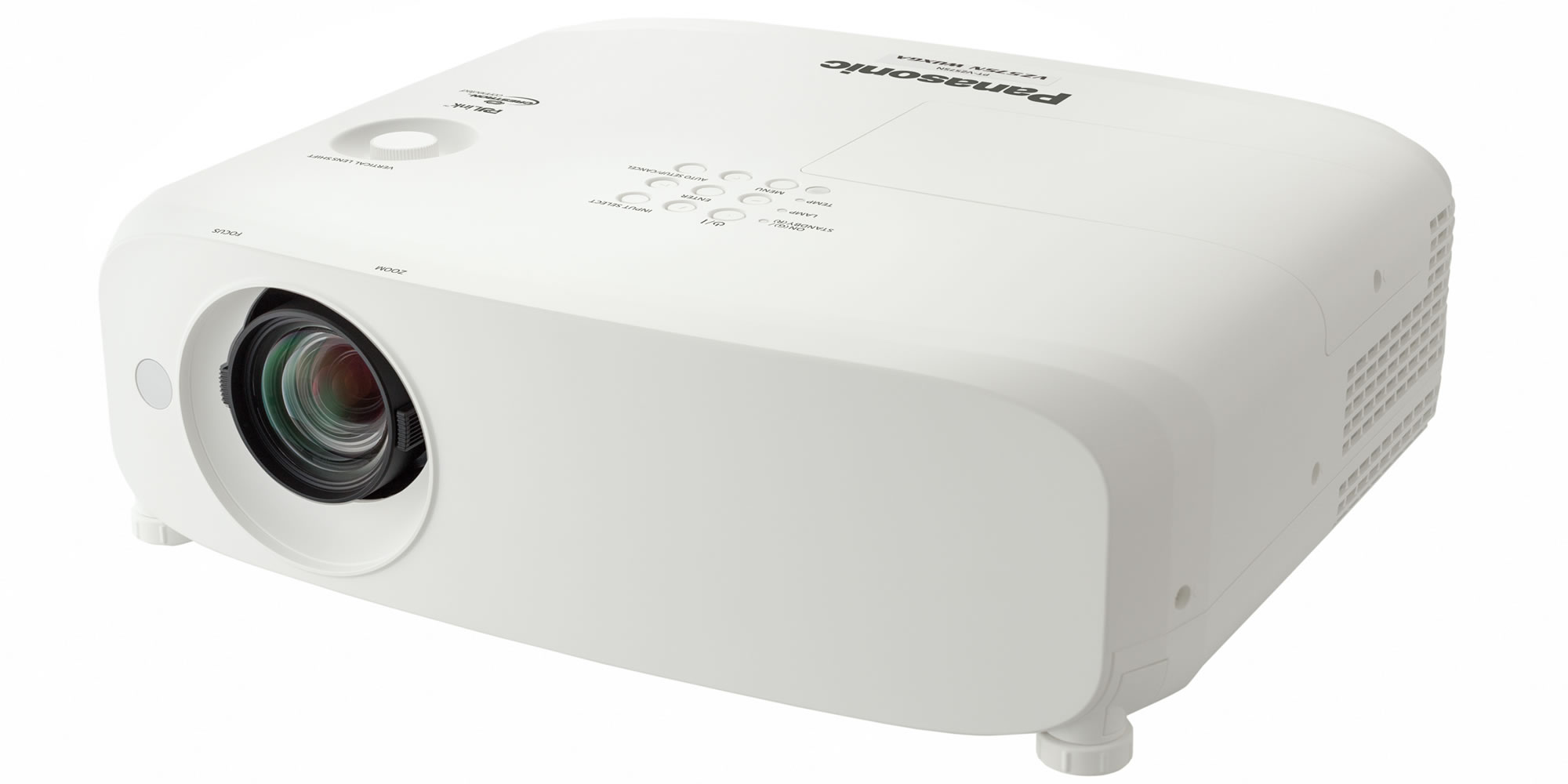 Проектор Panasonic PT-VW540E White 3P-Si LCD / 1280 х 800 / 16:10 / 5500 Lm / 16000:1 проектор panasonic pt ex620e lcdx3 1024x768 6200 ansi lm