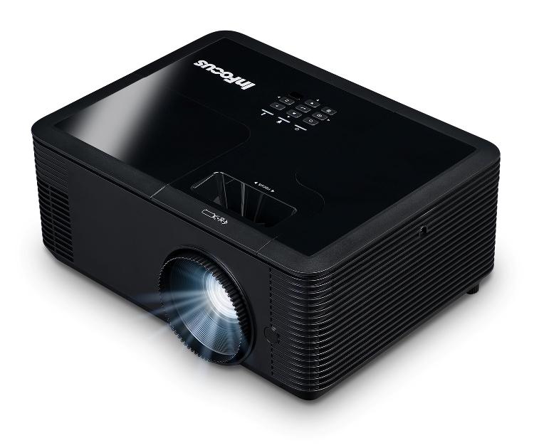 лучшая цена Мультимедийный проектор INFOCUS IN136 Black DLP / 1280 х 800 / 16:10 / 4000 Lm / 28500:1