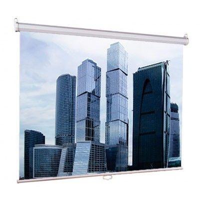 [LEP-100105] Настенный экран Lumien Eco Picture 160х160 см Matte White, восьмигранный корпус, возможность потолочн./настенного крепления  - купить со скидкой