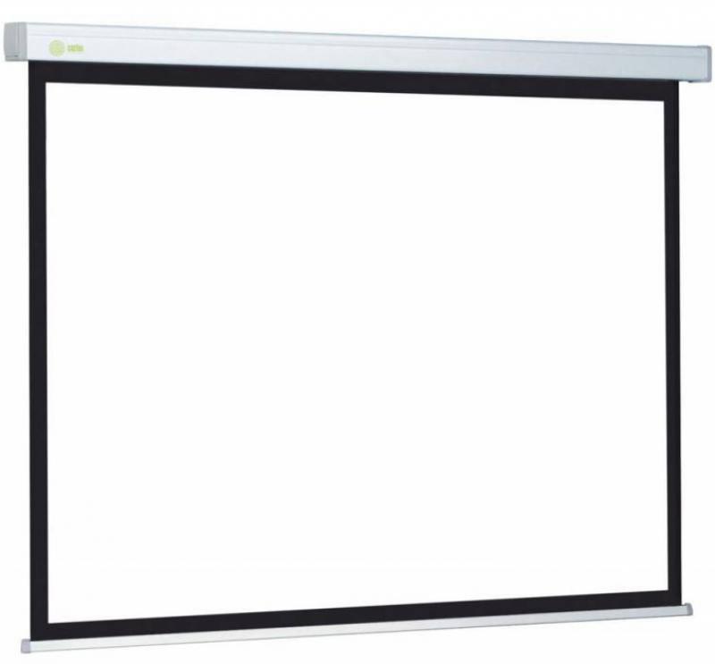 Экран настенный Cactus Motoscreen CS-PSM-127X127 127x127см 1:1 белый цена и фото