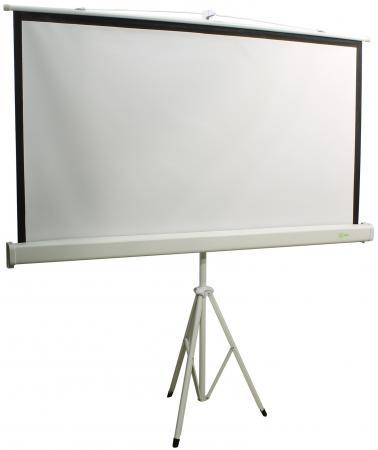 цена на Экран Cactus Triscreen CS-PST-150x150 1:1 напольный 150x150 рулонный белый