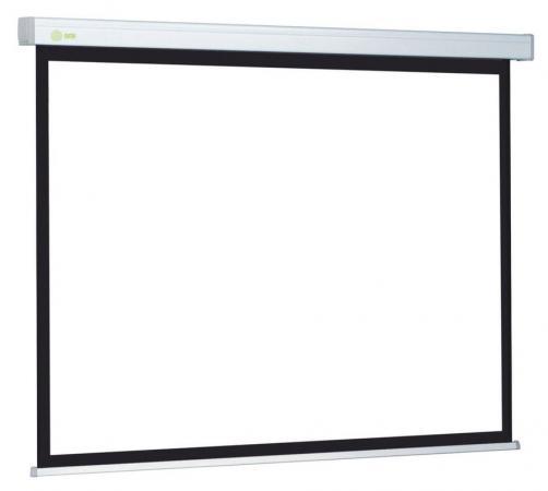 Экран Cactus Wallscreen CS-PSW-127X127 1:1 настенно-потолочный 127x127 рулонный белый цена и фото