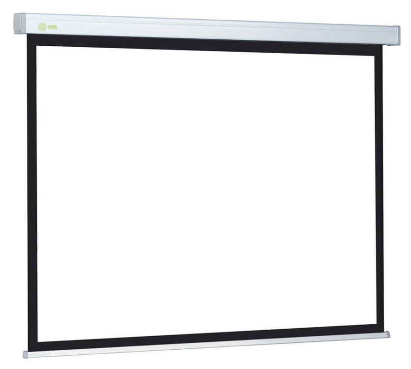лучшая цена Экран Cactus Wallscreen CS-PSW-213x213 1:1 настенно-потолочный 213x213 рулонный белый