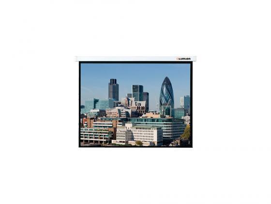 [LMC-100125] Экран настенный Lumien Master Control 220х220 см Matte White FiberGlass LMC-100125 с электроприводом