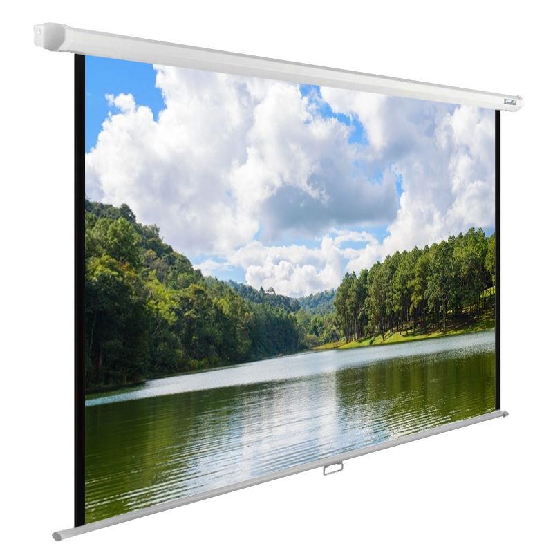 лучшая цена Экран Cactus 150x240см WallExpert CS-PSWE-240x150-WT 16:10 настенно-потолочный рулонный белый