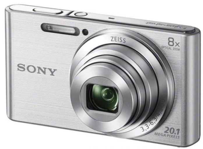 Фотоаппарат SONY DSC-W830S Silver (20Mp, 8x zoom, 2.7, SDXC, 720P) [DSCW830B.RU3] цена