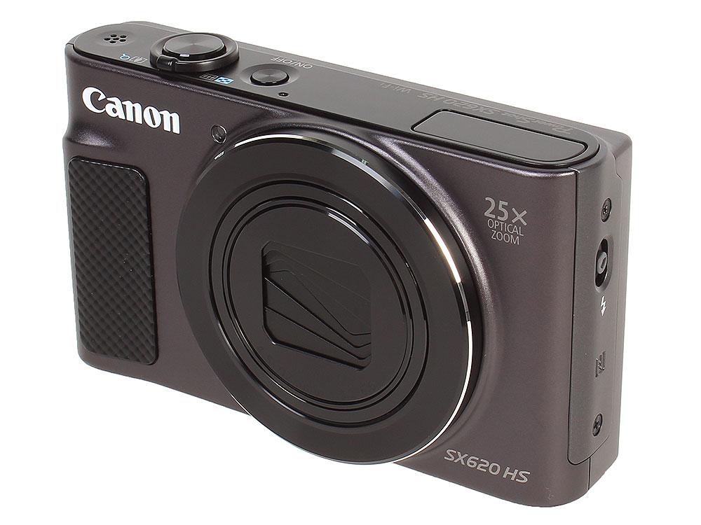 цена на Фотоаппарат Canon PowerShot SX620 HS (1072C002) Black 20.2 Mp, 1/2.3 / max 5184 x 3888 / 25x zoom / экран 3.0 / 0,182 г